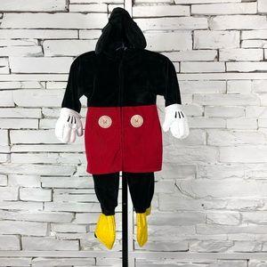 Disney Mickey Mouse Onesie Costume Hoodie 1637